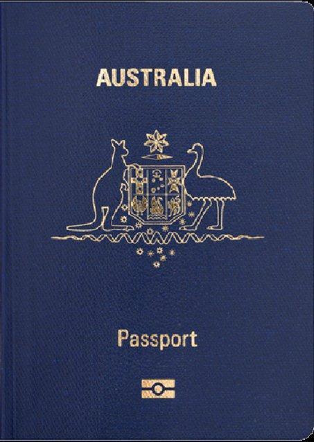 New Australia P series passport