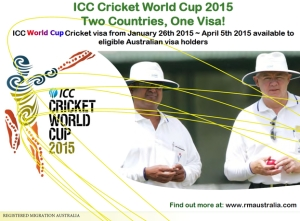 ICC World Cup Cricket Australia New Zealand Visa