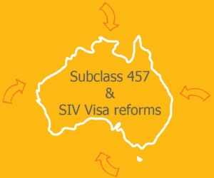 subclass 457 visa reforms