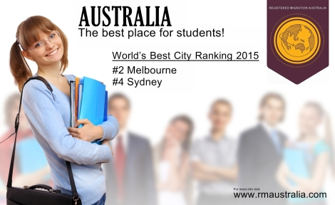 Australia the best place for students