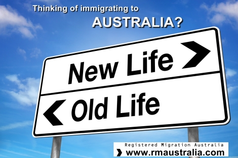 Immigrating to Australia in 2015