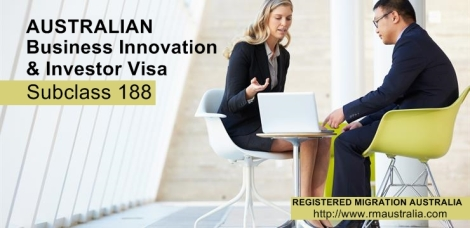 Subclass 188 visa