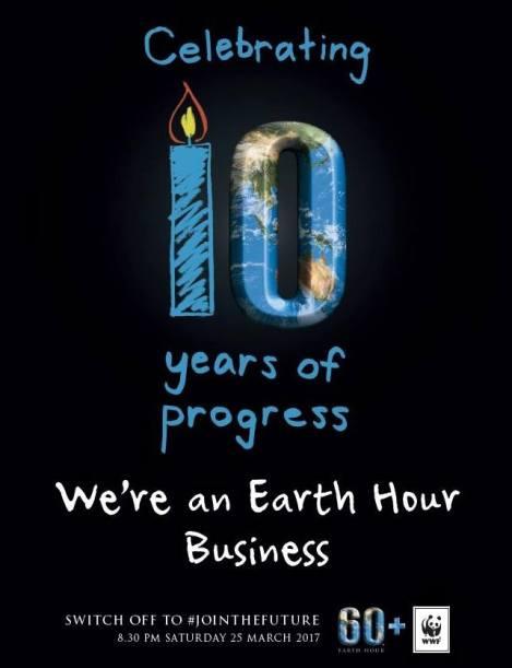 Earth Hour Registered Migration Australia 2017