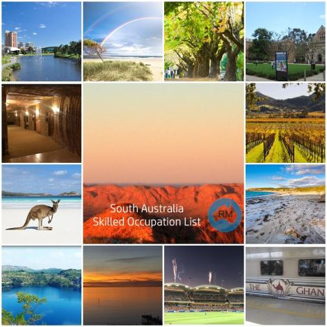 Visit South Australia Migration Skill List July 2017