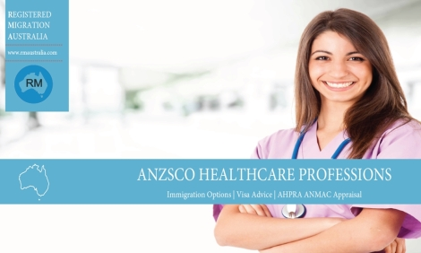 Nursing occupations PR Registered Migration Australia